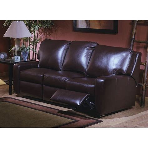 Leather Sofa Recliner Deals Mirage Leather Reclining Sofa Shops Great Deals And Products