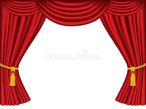 Tirai Teater tende teatro con lo spazio della copia illustrazione