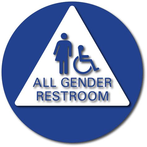 all gender bathroom sign signs all gender bing images