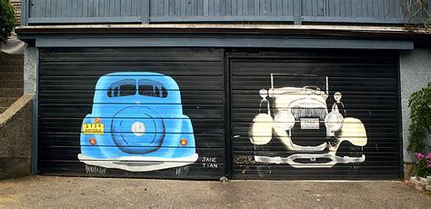 Car In Garage by Two Car Garage Sqwabb