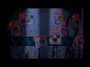 Dining Room Wall Color image fnaf 2 the pictures on the walls by pokemonmasta14