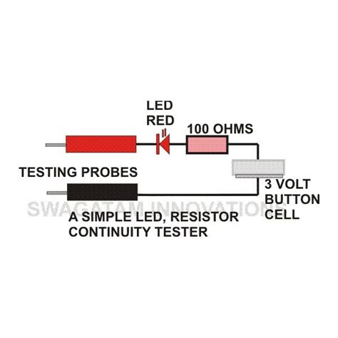 how to test a resistor for continuity how to make a continuity tester circuit