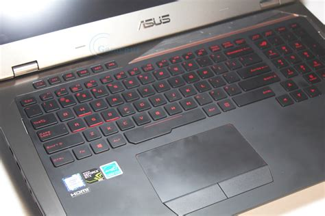 Asus Rog Laptop Optical Port asus rog gx700 vo review titan gaming laptop