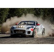 Jaguar F Type Rally Cars Built To Mark 70 Years Of