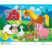 Farm Animals Theme Image 5 Royalty Free Stock Photos