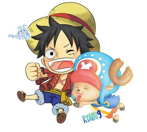 Kaos One Luffy Chooper chopper luffy collab kyaru9 dakomimi by kyaru9 on deviantart