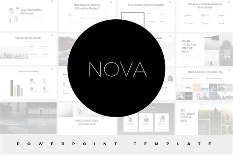 17 Minimalist Powerpoint Templates For Clean Simple Presentations A Template In Powerpoint