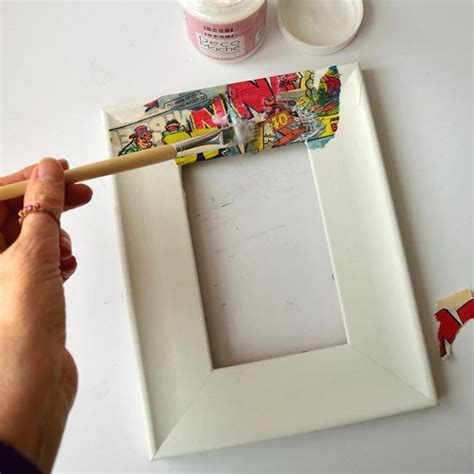decorare cornici le cornici il decoupage quadro