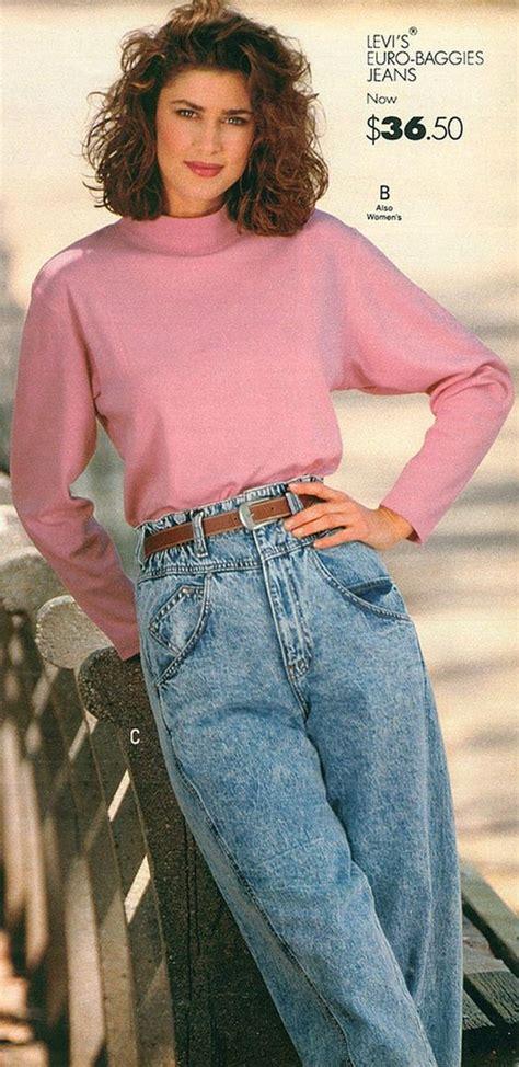 levi denim jeans from a 1989 catalog vintage fashion