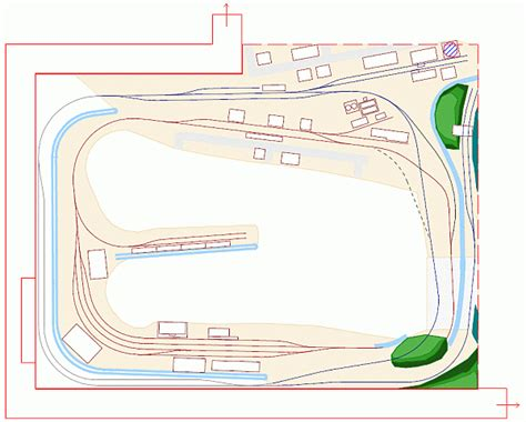 layout design ho scale ho model railroad layout plans pictures to pin on