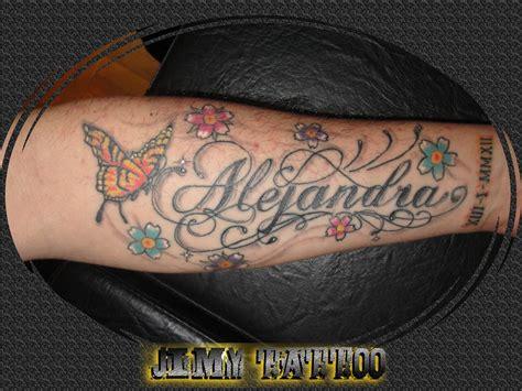 imagenes tatuajes con el nombre alejandro jimy tattoo alejandra letras