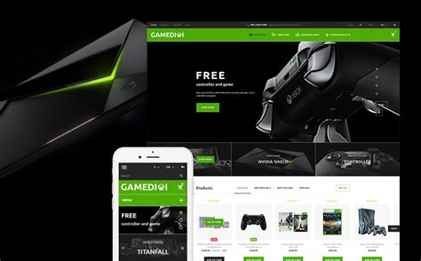 bootstrap themes games games prestashop template