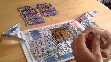 make a match attax card wh smiths pack match attax 2015 16 pack opening 3