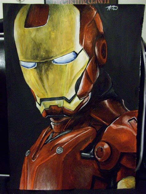 painting iron iron acrylic painting by dooga theobald on deviantart