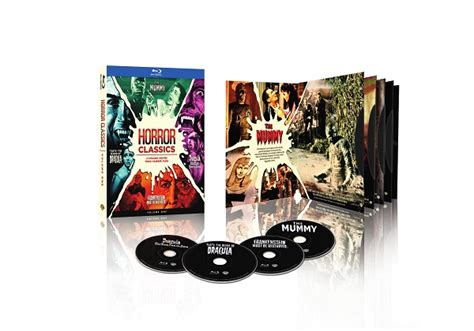 horror classics volume 1 special effects collection warner it s hammer time when warner bros releases horror