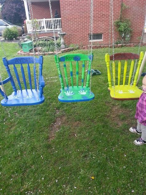 diy chair swing diy swing the plastics and swing chairs on pinterest