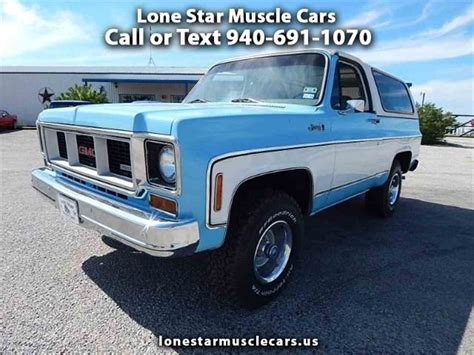 1973 gmc jimmy for sale 1973 gmc jimmy c k 1500 for sale classiccars cc 990877