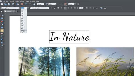 tutorial edit foto typography magix photo graphic designer vid 233 os tutorielles