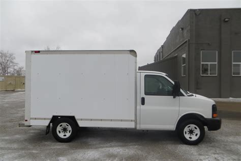 10 Box Truck For Sale - mag11282 2008 gmc box truck 10 ft mag trucks
