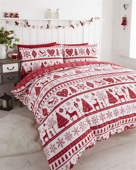 christmas kids quilt duvet cover bedding bed sets 5 sizes