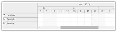 javascript format date week time header rows scheduler daypilot documentation