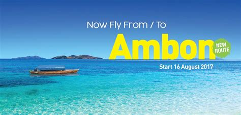citilink indonesia baggage allowance new route ambon