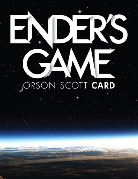 themes for the book ender s game ender s game book cover on behance