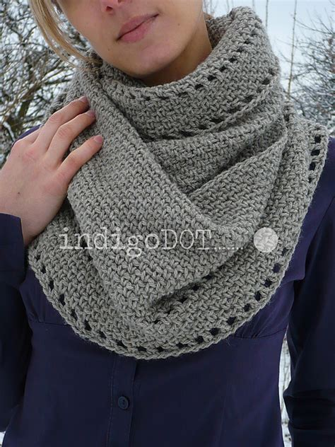 how to knit a snood scarf free pattern crochet snood scarf pattern crochet and knit