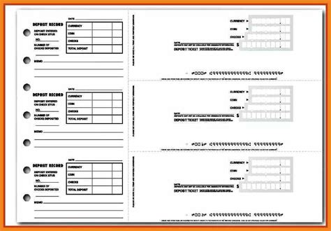bank deposit log template gse bookbinder co