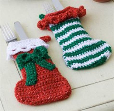 printable easy crochet christmas stocking patterns free