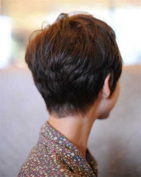 back of short asymetrical haircuts 59 best images about beauty and hair on pinterest pixie