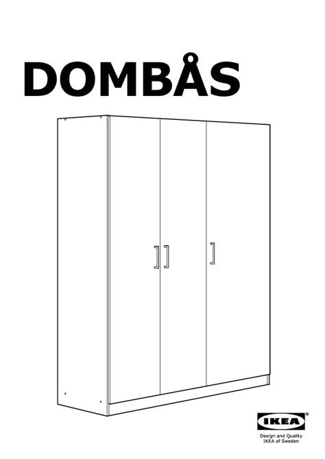 Armoire Dombas Ikea by Domb 197 S Armoire Penderie Blanc Ikea Ikeapedia