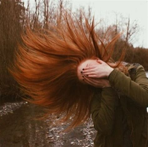 hair that flips in the back flip your red hair back and forth redheads pinterest
