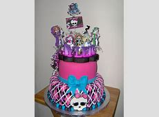 25 Monster High Cake Ideas and Designs - EchoMon Unique Girly Backgrounds