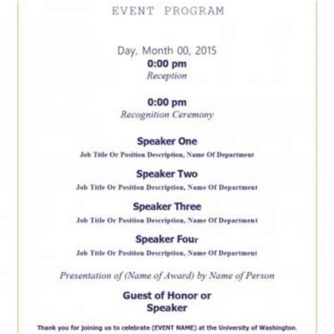 event program template psd flyer brochure graphicfy