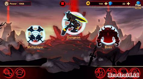 mod apk game league of stickman league of stickman warriors mod apk free shopping v3 5 0
