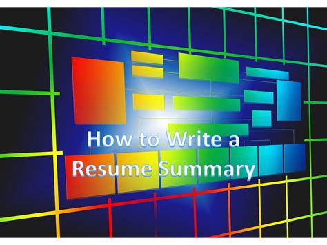 how to write a resume summary 21 best examples you will see write