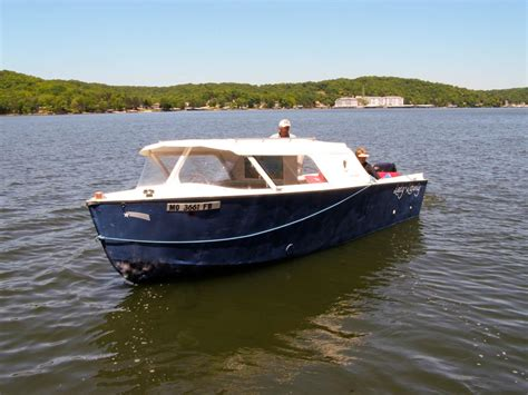 boat mechanic lake of the ozarks restored vintage classic cruises gravois arm news the