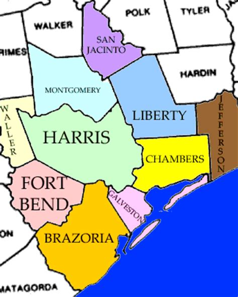 houston texas counties map index of baytown real estate