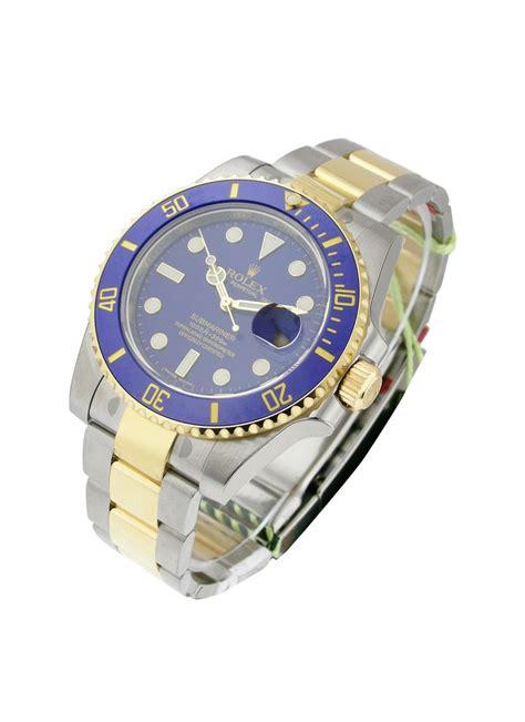 Rolex Oyster Submariner 2 rolex unworn submariner two tone oyster bracelet