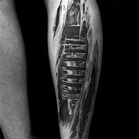tattoo body shock 50 suspension tattoo designs for men shock absorber ideas