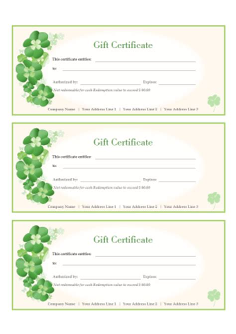 Free Gift Certificate Templates For Word Powerpoint Pdf Gift Certificate Template Powerpoint