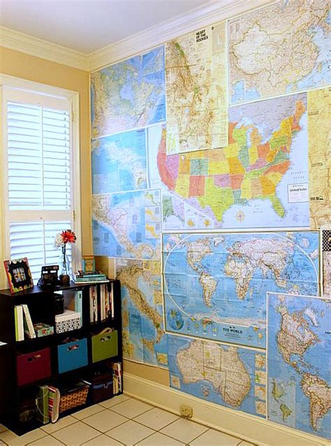 Decorating With Maps by 15 Diy Ideas For Decorating With Maps