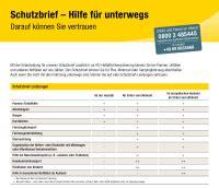 Adac Kfz Versicherung Leistungen by Was Ist Ein Schutzbrief Huk Coburg