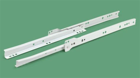Cabinet Drawer Rollers 32 058 16 Quot Self Closing Drawer Slide Pair Swisco Com
