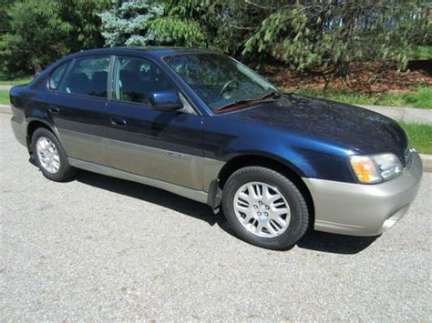 dark blue subaru outback buy used rare dark blue 2004 subaru outback limited sedan