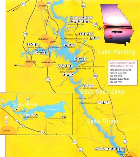 lake oconee map lake maps rock hawk