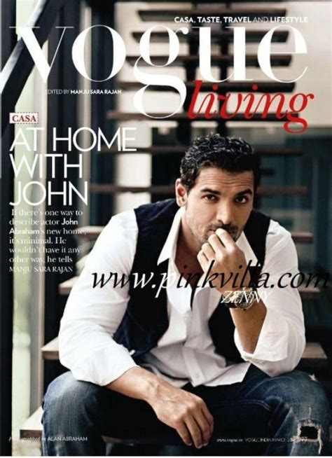 John Abraham S New House S Picture Vogue March 2011 Pinkvilla | john abraham s new house s picture vogue march 2011