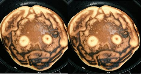 Wajan Pancake wajan ini gagal bikin pancake tokoh kartun yang justru