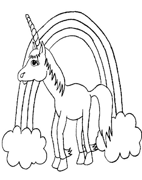 unicorn coloring pages free printable unicorn coloring pages